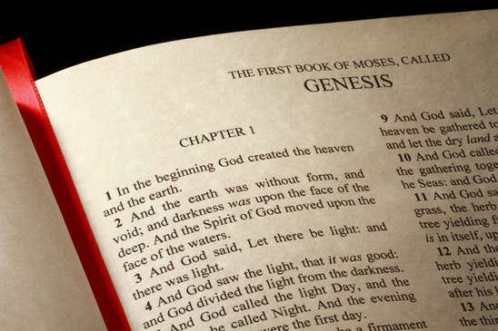 Genesis Chapter 1 of the Old Testament