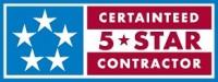 CertainTeed 5 Star Contractor - Genesis Home Improvement