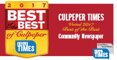 Best of the Best Culpeper 2017