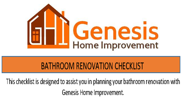genesis bathroom remodeling checklist virginia