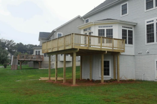 Deck in Woodbridge - AFTER Genesis Home Improvement
