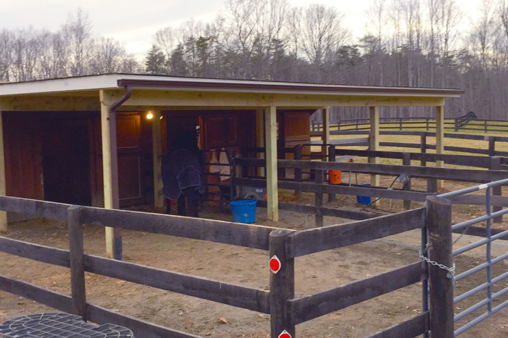 Barn Build Amissville