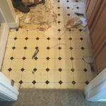 Flooring in Madison - BEFORE