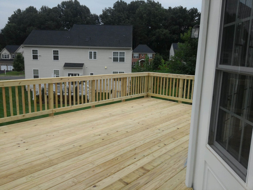 Deck In Woodbridge