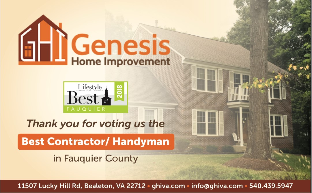 Genesis Best of the Bset Fauquier